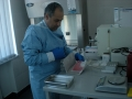 6. Packing stem cells for freezing