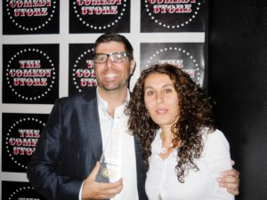 Sam Tripoli and Lara Yeretsian