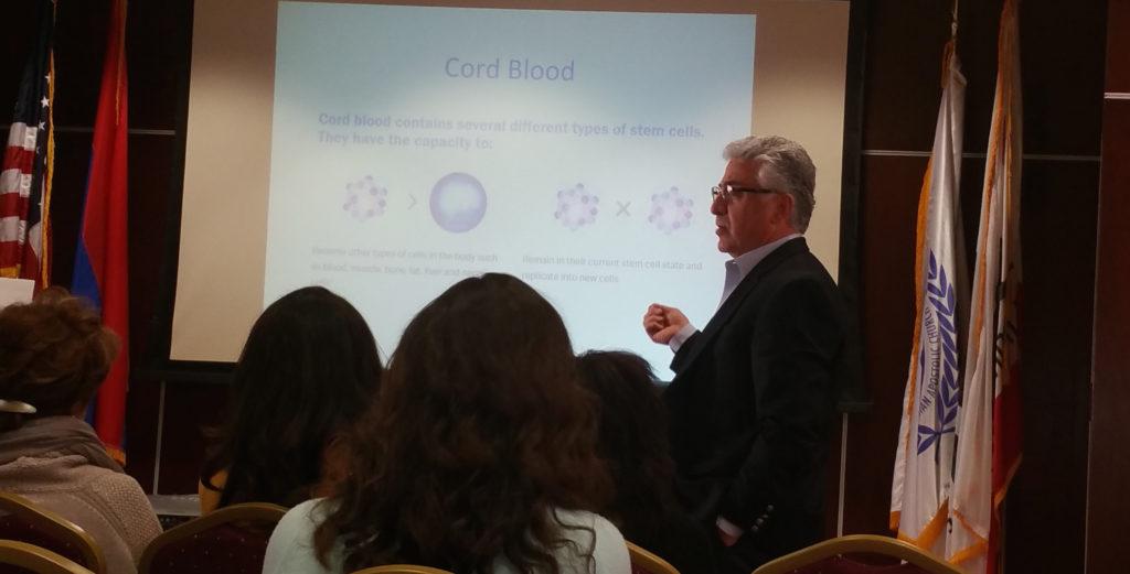 3. Armond Mehdikhani talking about cord blood banking