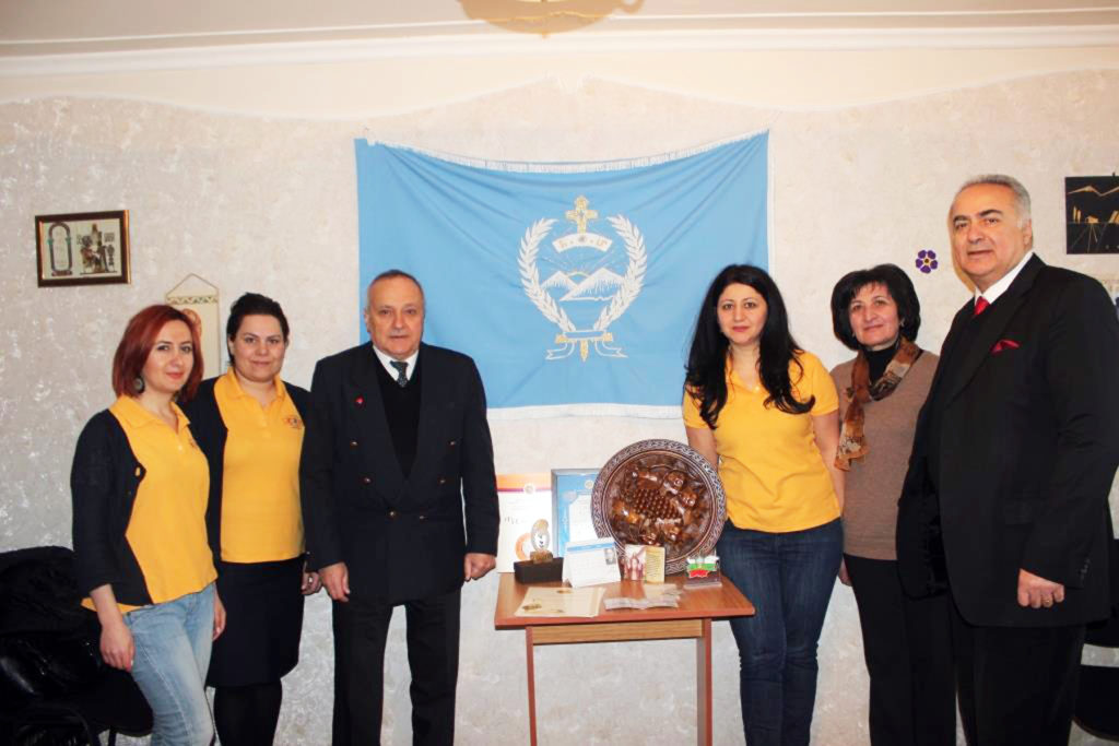 ABMDR Team with ARS' Karine Tadevosyan