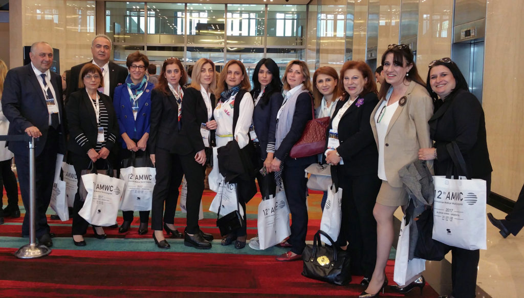 ABMDR Delegation with Doctors from Armenia