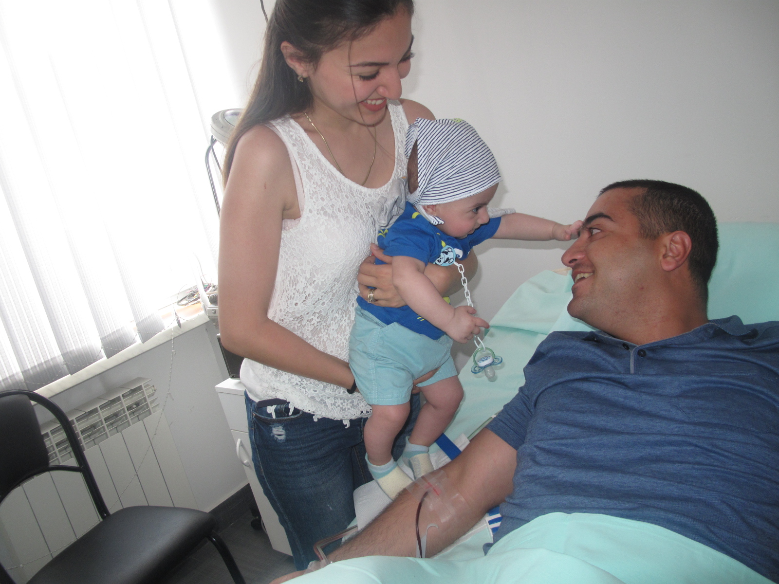 1. Sergey with the blessing of his young family