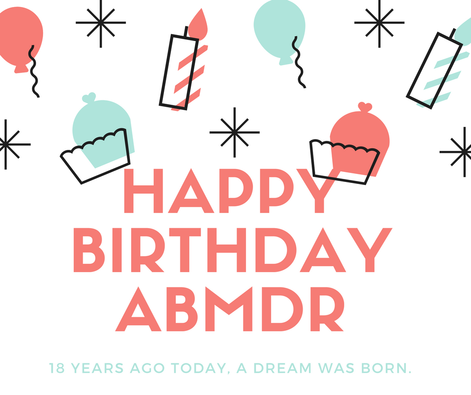 Happy Birthday ABMDR