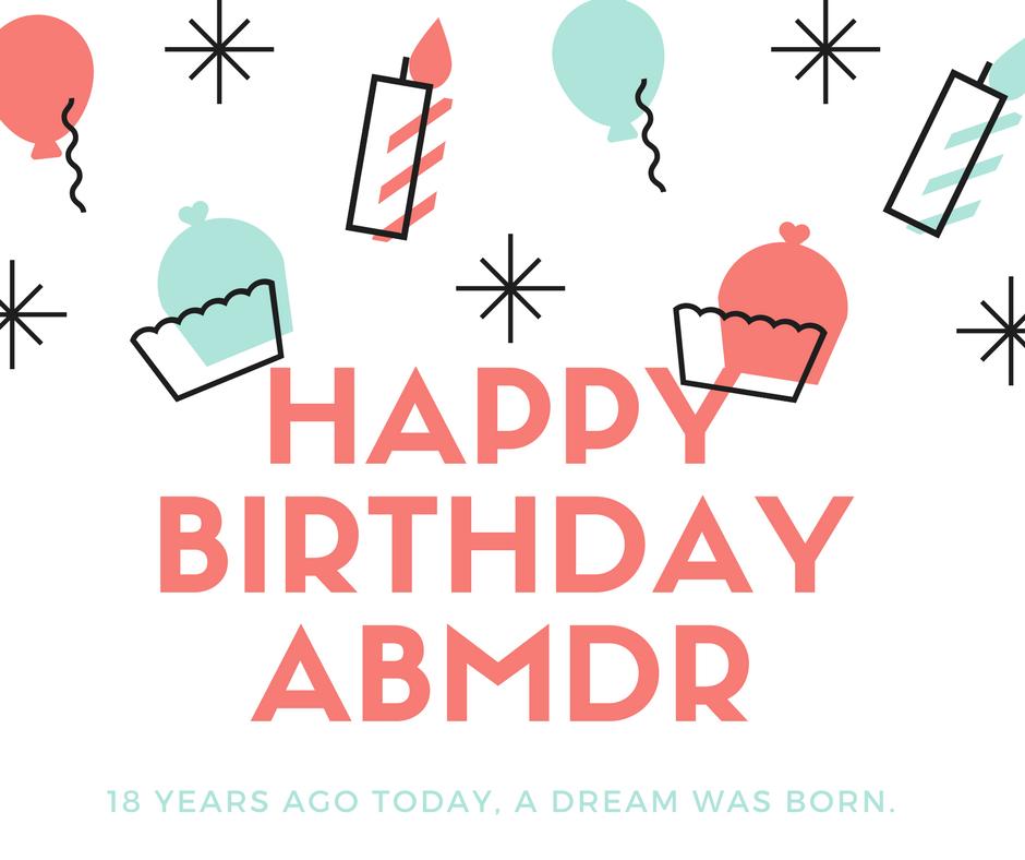 Happy Birthday ABMDR