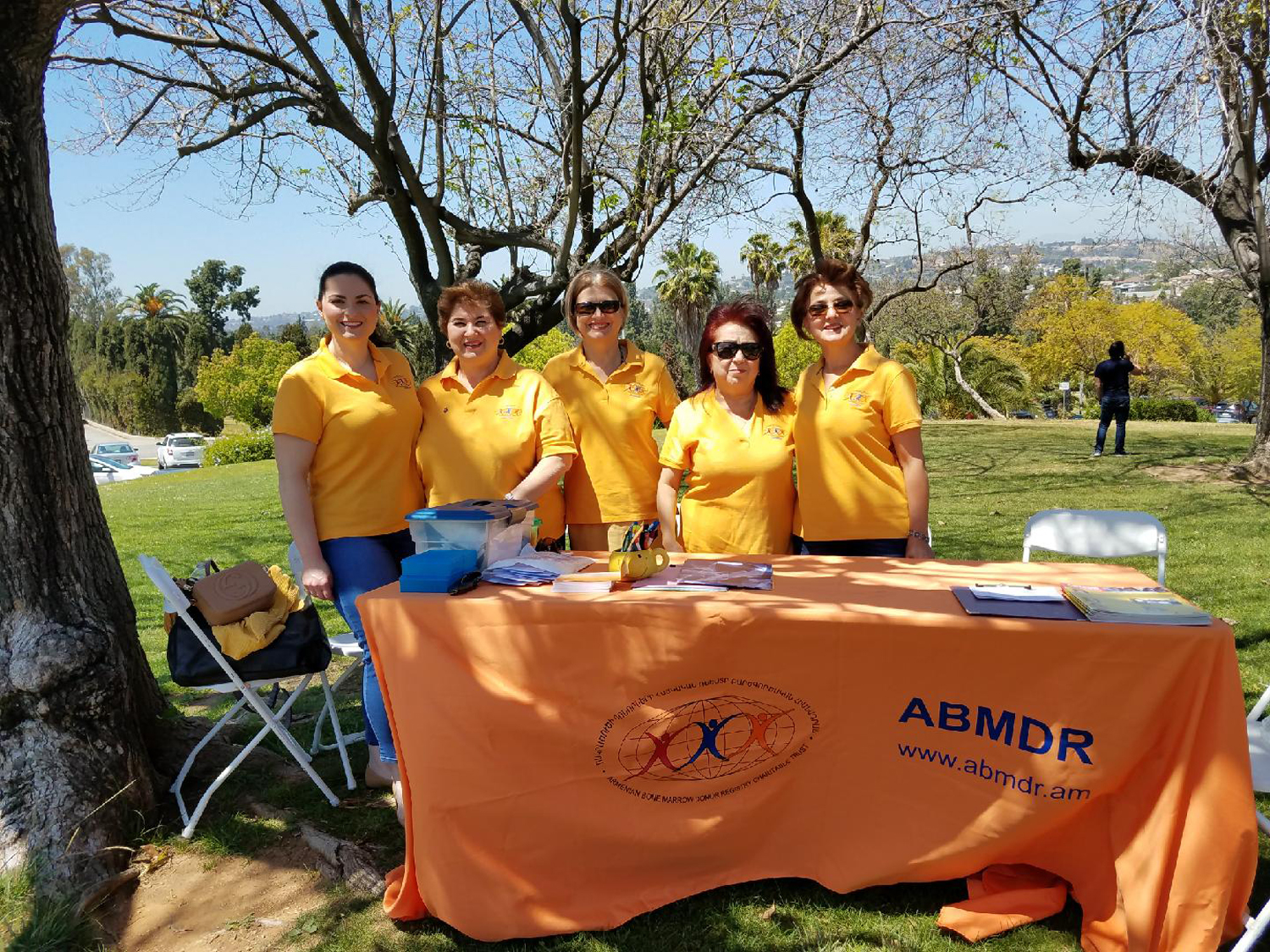 ABMDR Team on Grounds of Montebello Monument