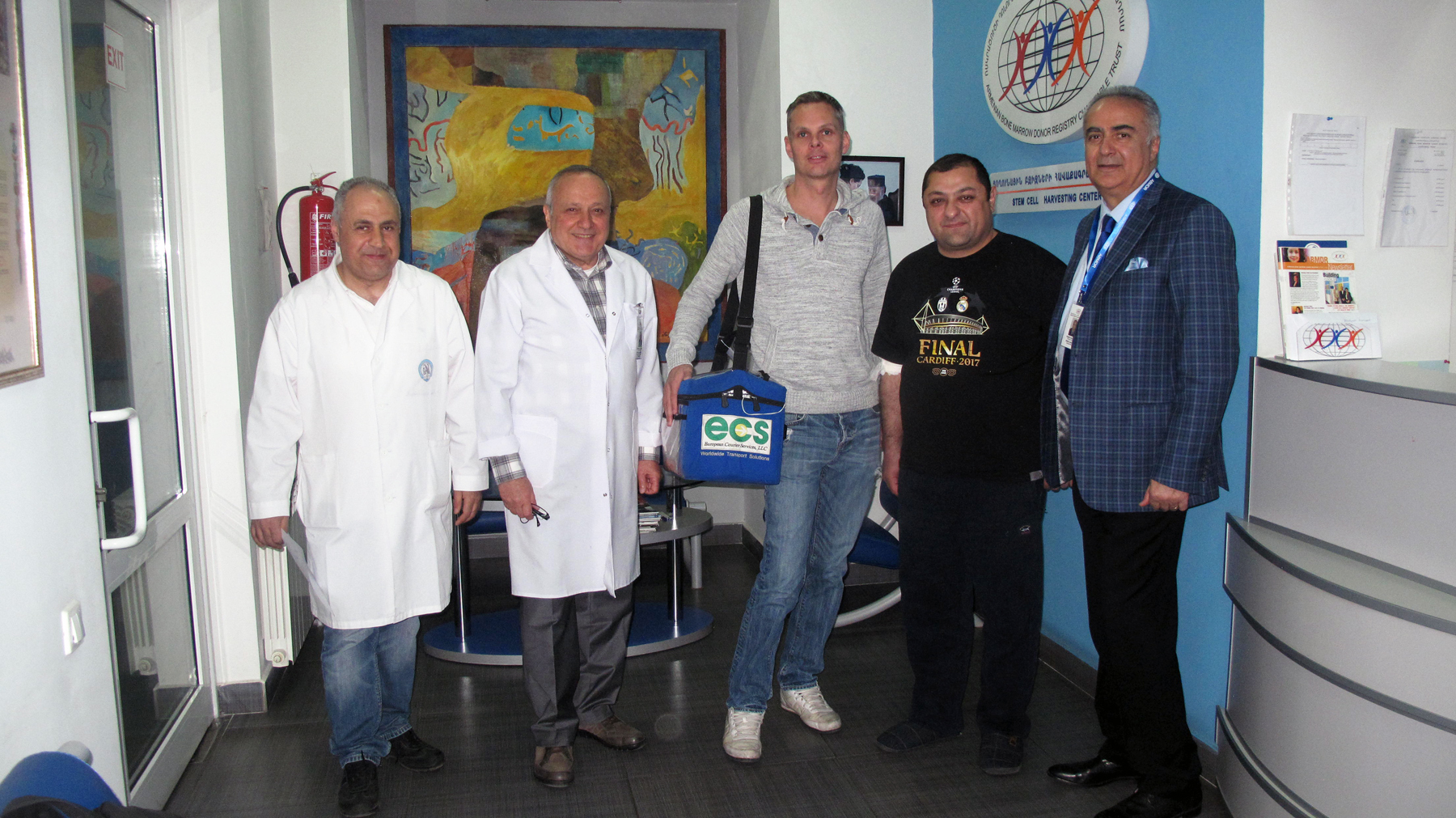 Iloyan, ABMDR Doctors, and Courier