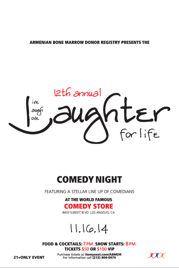 Laughter For Life 2014
